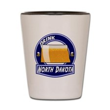 Drink North Dakota Shot Glass
