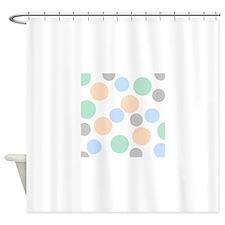 Pastel pellets Shower Curtain
