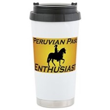 Cute Peruvian paso horse Travel Mug