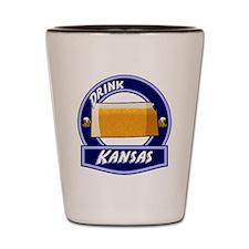 Drink Kansas Shot Glass