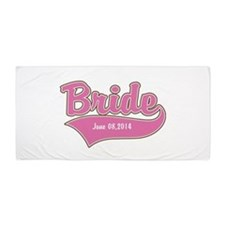 Bride Personalized Beach Towel