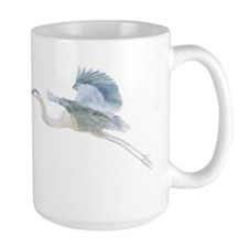 Unique Heron Mug
