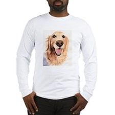Golden Retriever Merchandise Long Sleeve T-Shirt