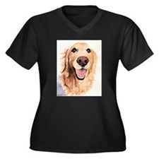 Golden Retriever Merchandise Women's Plus Size V-N