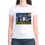 Starry - Tri Aussie Shep2 Jr. Ringer T-Shirt