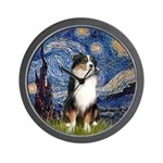 Starry - Tri Aussie Shep2 Wall Clock