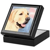 Yellow Lab #2 Merchandise! Keepsake Box