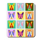 Boston Terrier Pop Art Mousepad