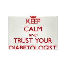 Keep Calm and trust your Diabetologist Magnets