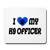 Love My K9 Officer Mousepad