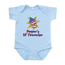 Peepaws Lil Firecracker Body Suit