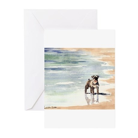 Miniature Schnauzer Merchandi Greeting Cards (Pack