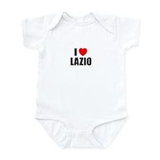 I Love Lazio, Italy Infant Bodysuit
