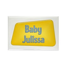 Baby Julissa Rectangle Magnet (10 pack)