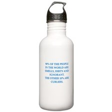 curler Water Bottle