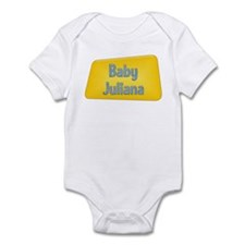 Baby Juliana Infant Bodysuit