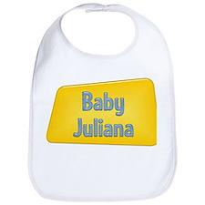 Baby Juliana Bib