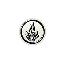 Dauntless symbol Mini Button