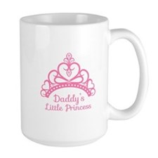 Daddys Little Princess, Elegant Tiara Mugs