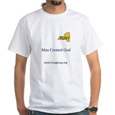 Man Created God Shirt