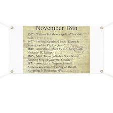 November 18th Banner
