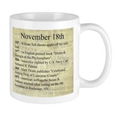 November 18th Coffee Mugs