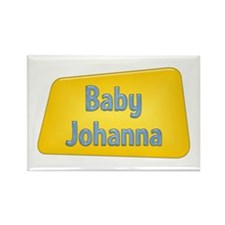 Baby Johanna Rectangle Magnet