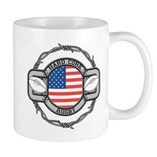 USA Hard Core Rugby Mug