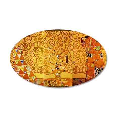 Gustav Klimt Tree of Life Art Nouveau Wall Decal