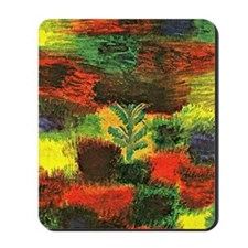 Klee - Little Tree amid Shrubbery Mousepad