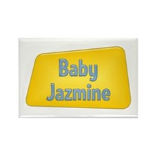 Baby Jazmine Rectangle Magnet (100 pack)