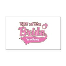 BFF of the Bride Rectangle Car Magnet