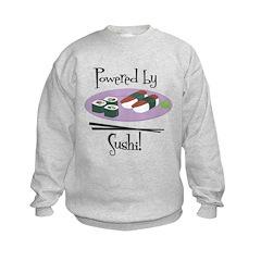 Powered by Sushi Kids Sweatshirt