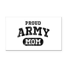 Proud Army Mom Rectangle Car Magnet