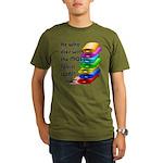 He who dies with the Organic Men's T-Shirt (dark)