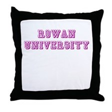 Rowan University Throw Pillow