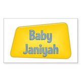 Baby Janiyah Rectangle Decal