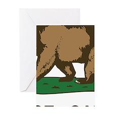 Torrance California Republic Flag Greeting Cards