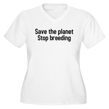 Funny Save planet T-Shirt
