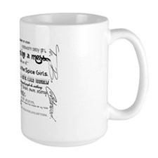 My Mad Fat Diary Quote Poster Coffee Mug