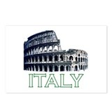 Italy (Colosseum - Dark) Postcards (Package of 8)