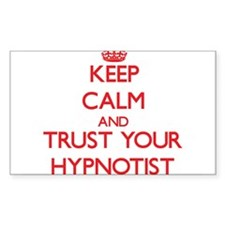 Keep Calm and trust your Hypnotist Decal