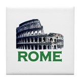 Rome, Italy (Colosseum) Tile Coaster