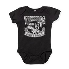 Vikings Football Baby Bodysuit