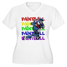 Paintball Player T-Shirt