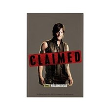 Daryl Dixon Claimed Rectangle Magnet