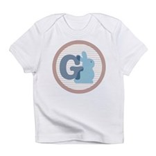 Letter G with cute bunny Infant T-Shirt
