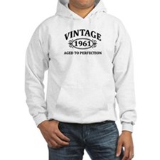 Vintage 1961 Aged to Perfection Hoodie