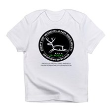 Dept Of Woodland Security Deer Infant T-Shirt