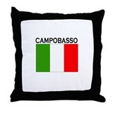 Campobasso, Italy Throw Pillow